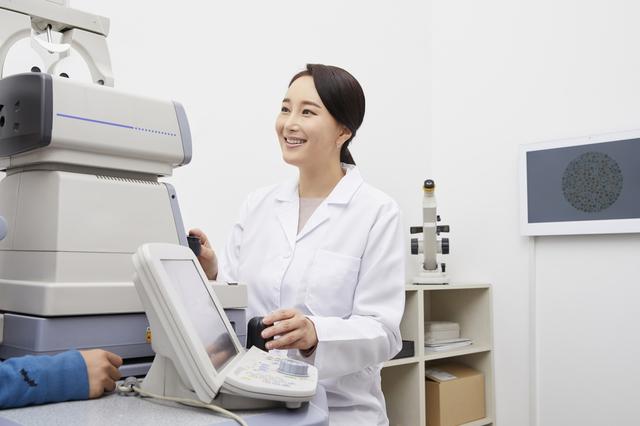 眼科での検診
